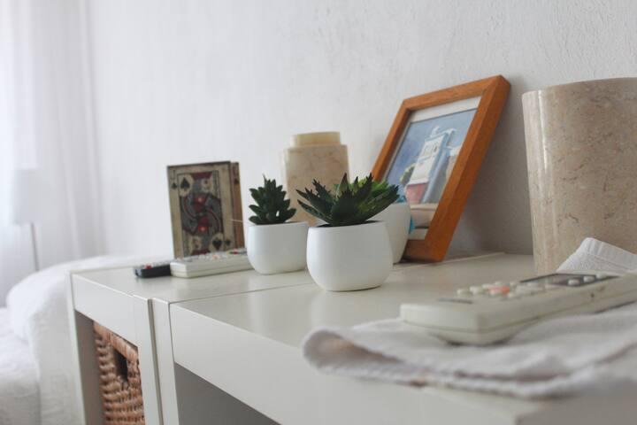 La habitación blanca @ La Casa de Chona