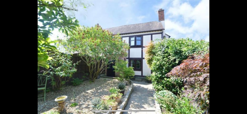Beautiful cottage in rural Shropshire.