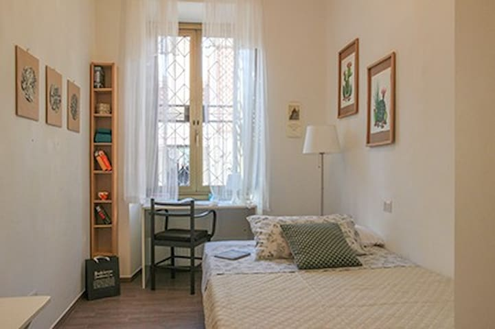 Single bedroom Testaccio