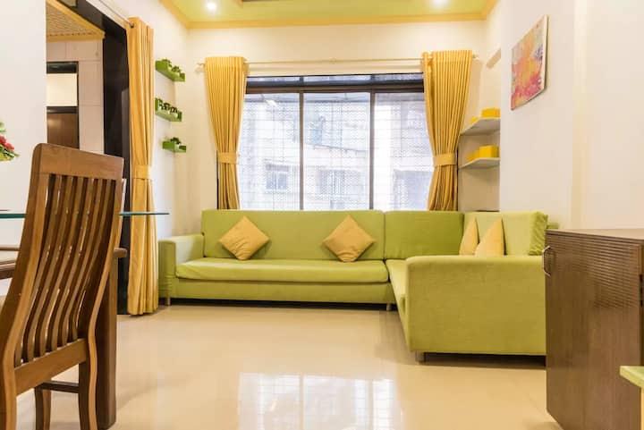 self catering 1 Bedroom apartment (kandivali east)