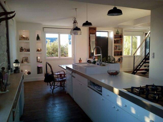 House full of light