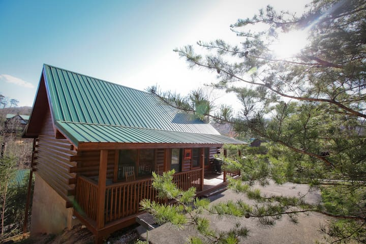 Moon Shadow - Beautiful Cabin 1 mile from Parkway