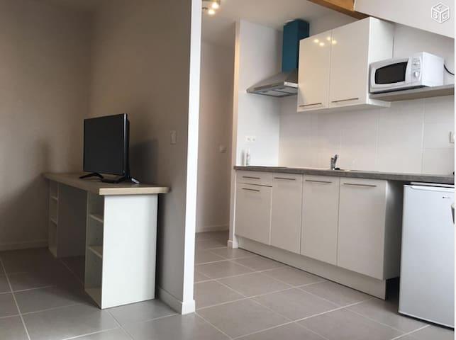Studio meublé tout proche de roissy - Aéroport CDG - Moussy-le-Neuf - Apartament