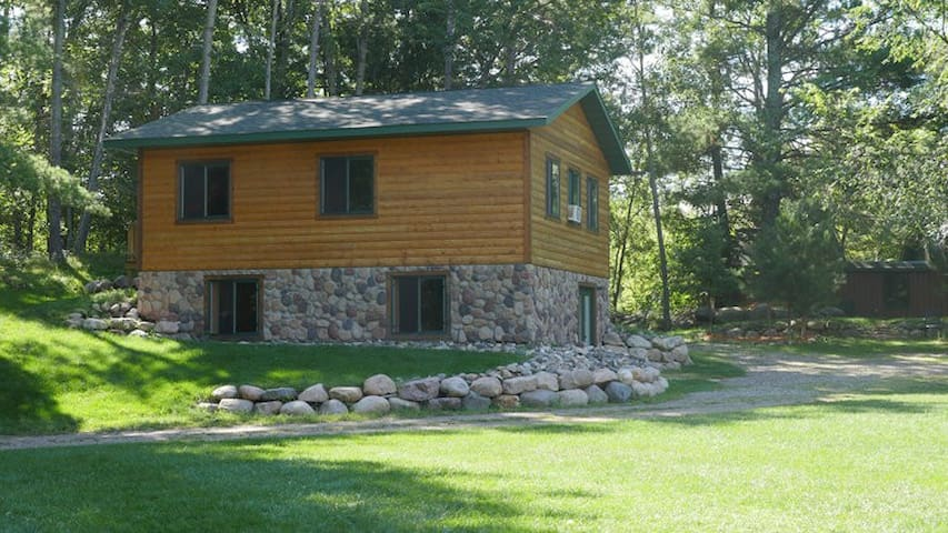 Duplex style cabin, great for a larger group!