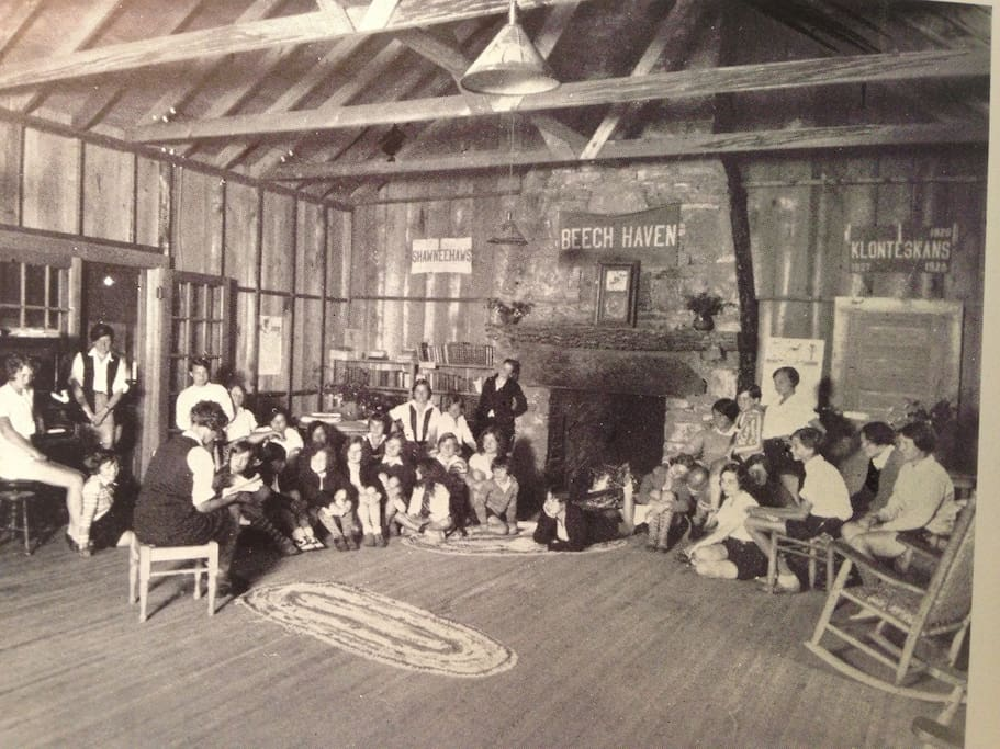 Historic Beech Haven was a girls camp from the 1920's to the 1940's.