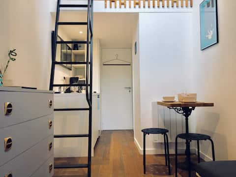 Studio canut in the heart of the Croix-Rousse
