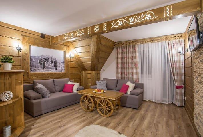 Apartament Debowy DeLux dla 2-7 osób Zakopane