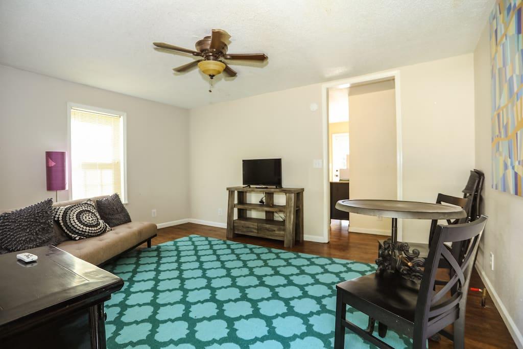 Living Room from the Front Door
