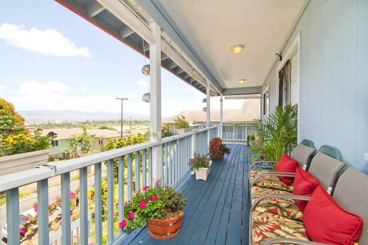 Maunaleo House 3 bedrooms (GR8 4 Families) - Honolulu - Casa