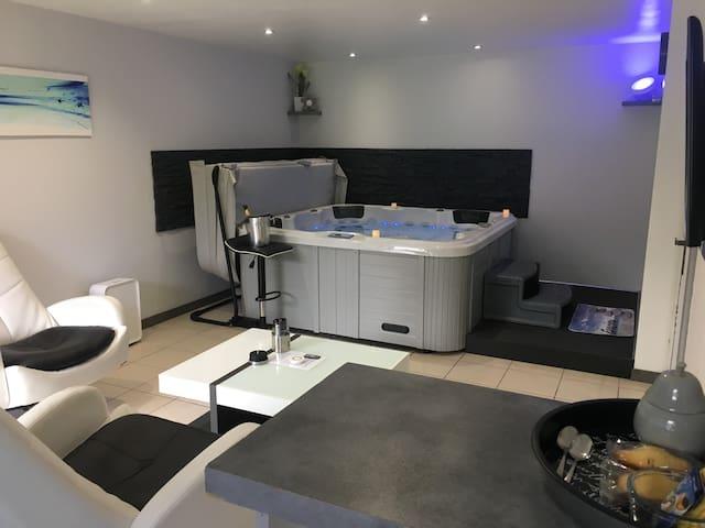 Appartement avec jacuzzi intérieur privatif - Tolosa
