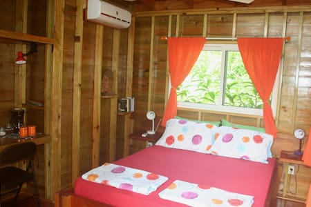 Queen Bed in room 2