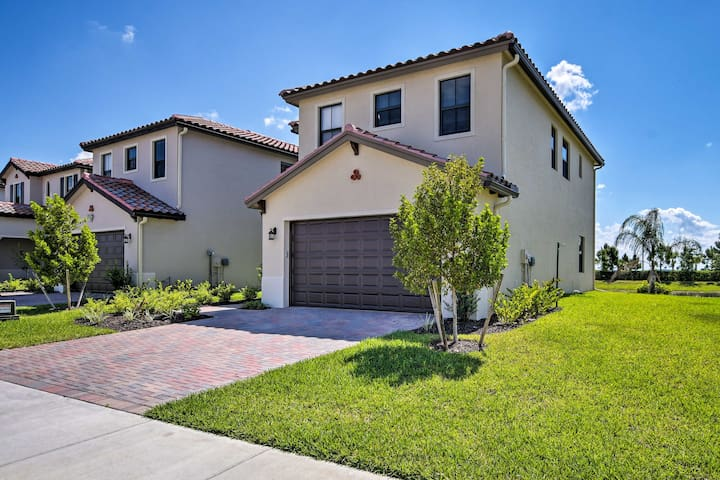 NEW! Ave Maria Home w/Comm. Pool - Near Golfing!