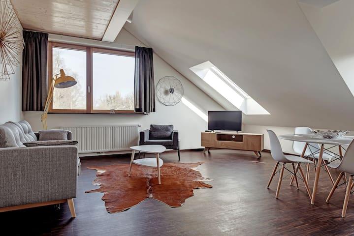 appartement 104 54,00 m2 une chambre à coucher