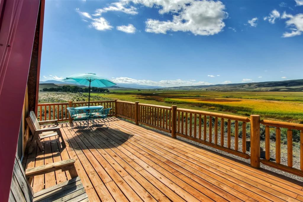 The panoramic views will simply take your breath away!