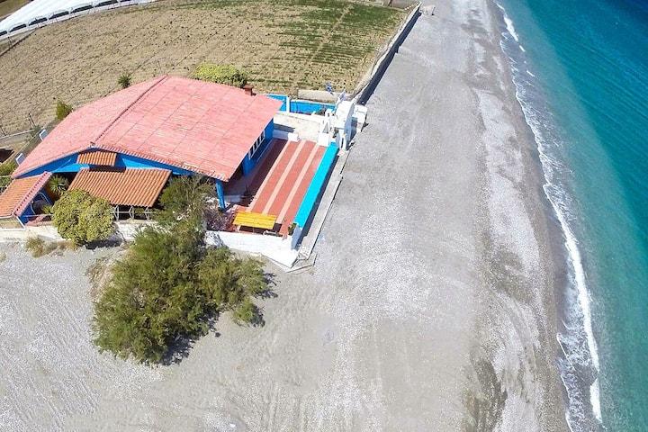 Villa Nanita on the beach, Leonidio