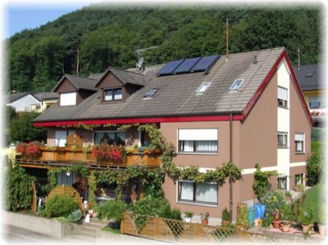 Schönes, helles Gästezimmer mit Burgblick (DU/WC) - Wernersberg - House