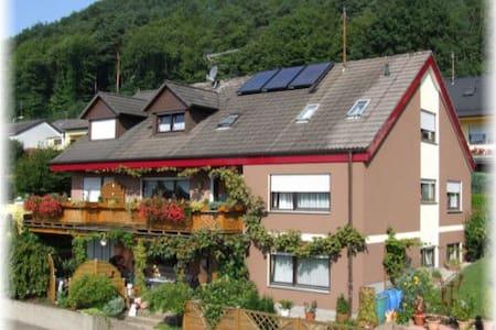 Schönes, helles Gästezimmer mit Burgblick (DU/WC) - Wernersberg