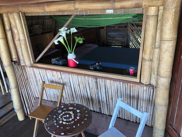 !! Beach-front cabin in Mermejita, Mazunte !!