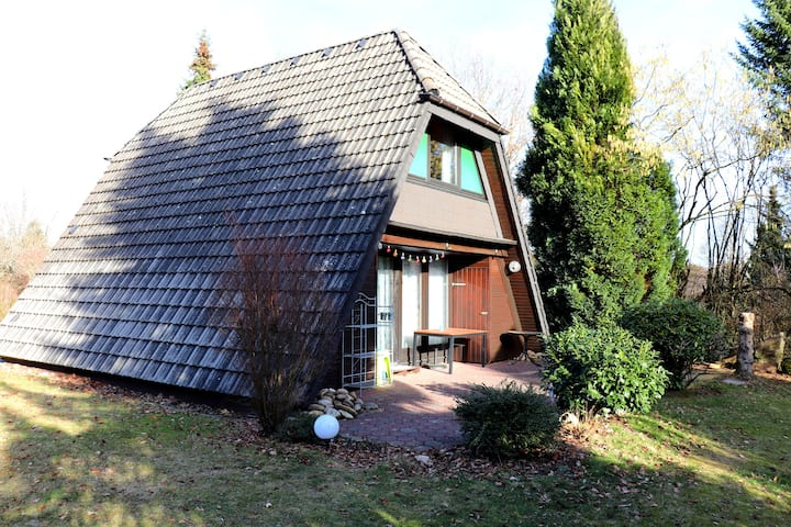 "Cottage ""Winnetou"" in holiday village Waldbrunn"