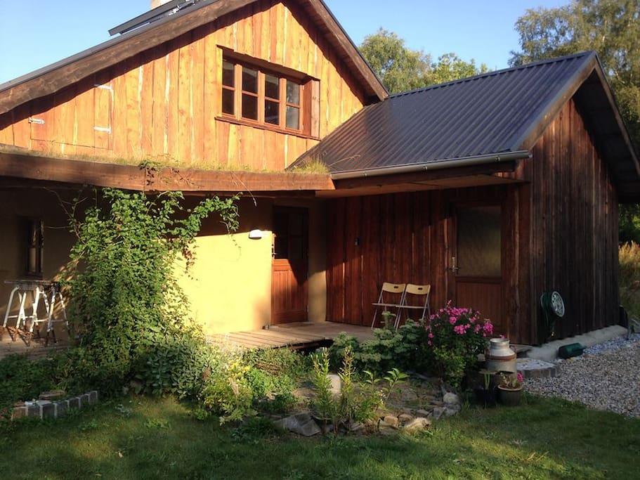 Strawbale house...
