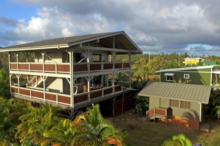 Lower Ohana @Treehouse in Paradise w/addl bedroom - Pāhoa - Cabin
