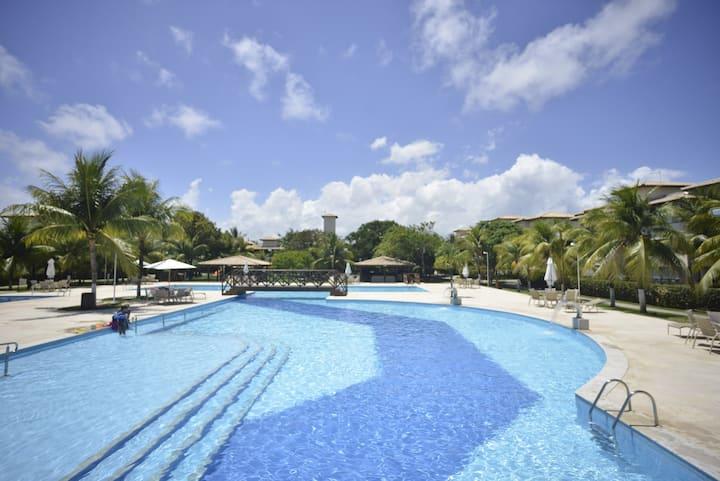 Excelente apart, com a melhor piscina do litoral!!