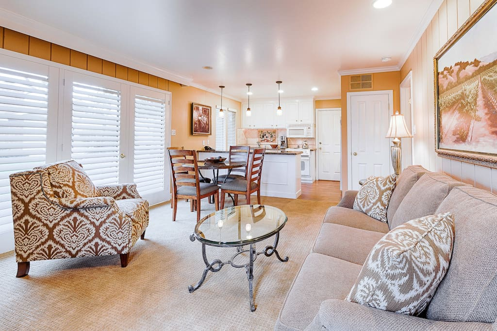 This romantic Napa Valley condo is professionally managed by TurnKey Vacation Rentals.