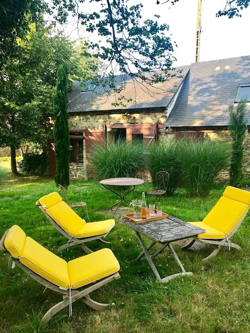 Votre salon de jardin