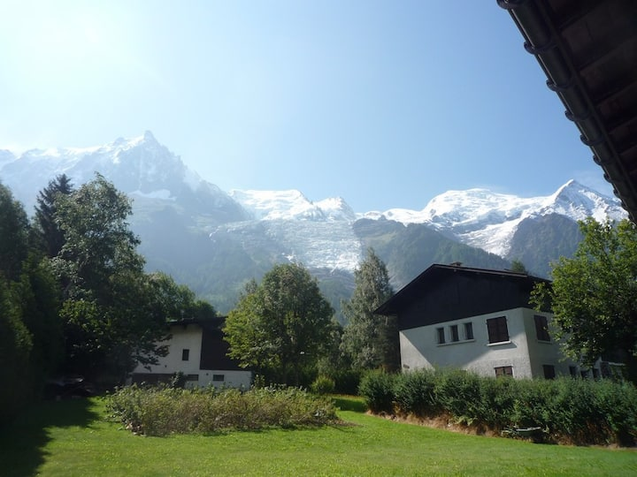 2 pièces  ( 35 m2 )  superbe vue Mont-blanc
