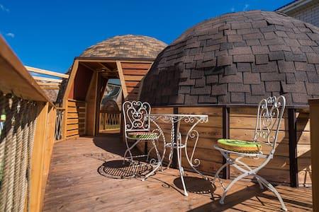 Новый купольный дом в Благовещенской - АтмосфЭра.