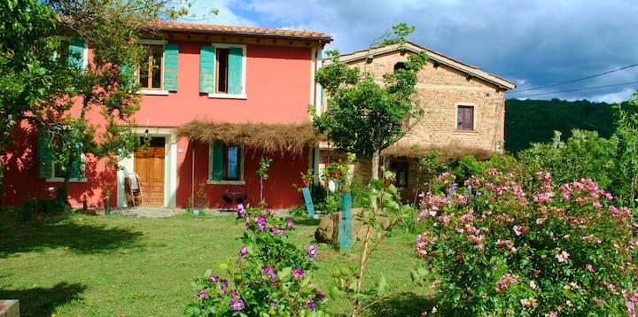 Tertulia coliving in Toscana immerso nella natura