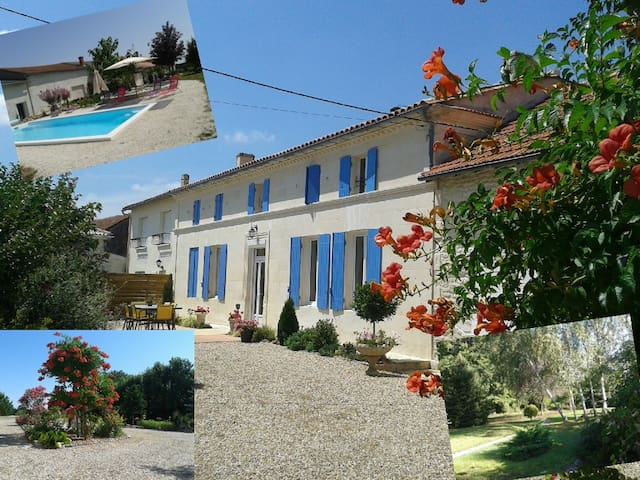 CHAMBRE PRUNE - Chadenac - Bed & Breakfast
