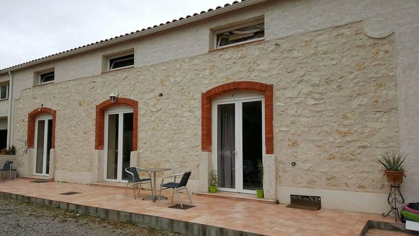 Dans ancien chais Residence privee - Cuxac-d'Aude - Casa