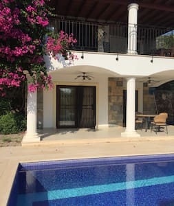 Villa Zeytin with private pool.