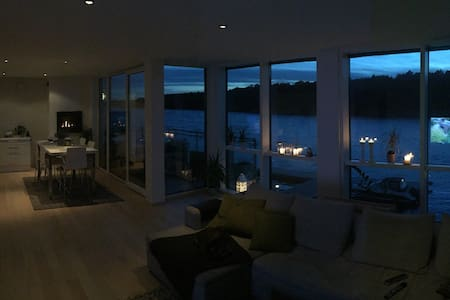An uniqe apartment near by/on the sea! - Fredrikstad