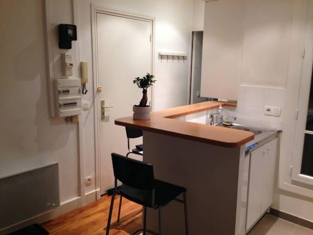 Studio tout neuf et fonctionnel quartier Gobelins