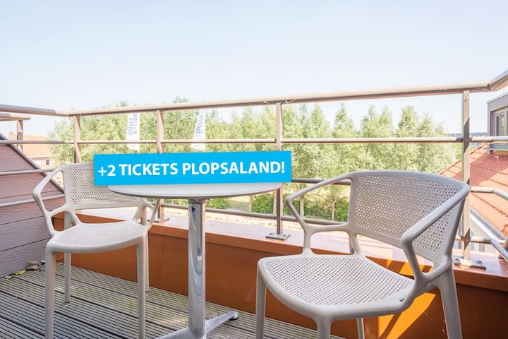 2 free tickets for Plopsaland incl. in your stay