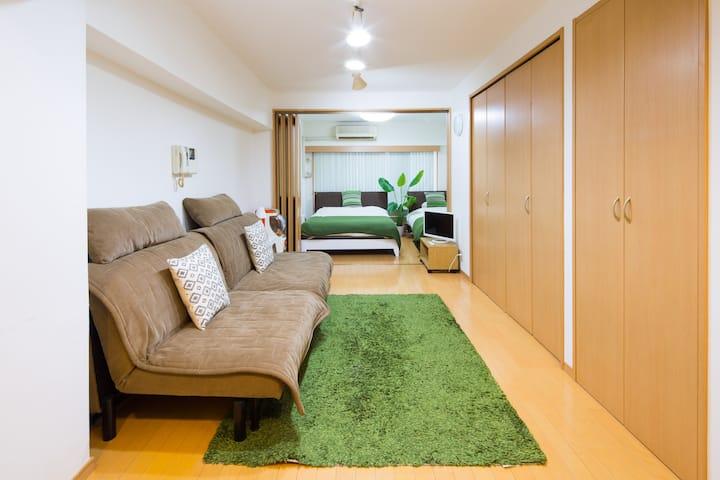 【新宿32ROOM】 光回線完備 お部屋で楽しく過ごそう