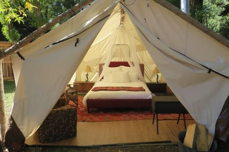 Glamping On The River-Luxurious Wall Tent -Dubois - Dubois