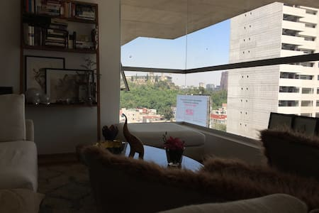 Cool flat in Condesa Amazing View - Mexiko-Stadt - Wohnung