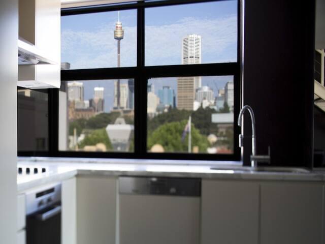Very Modern 1 bedroom apartment, walk to the city. - Woolloomooloo