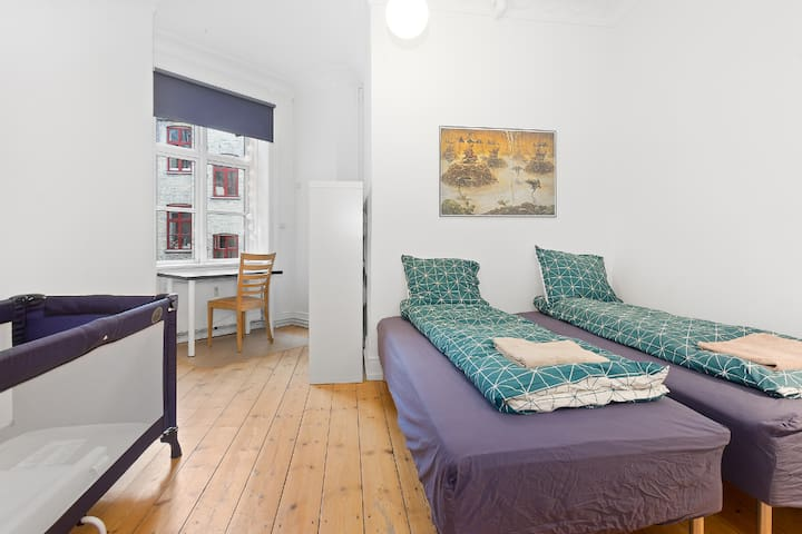 Room in Central and Spacious Apartment