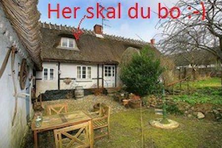 Værelse på 12 kvm i stråtækt hus - Skibby - Haus