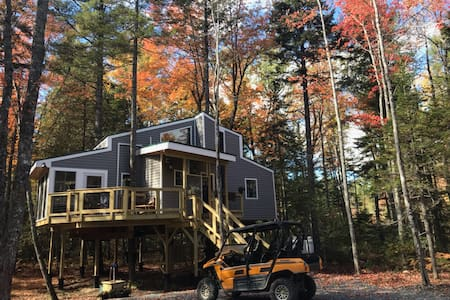 Treehouse near Bar Harbor. Luxurious and private!