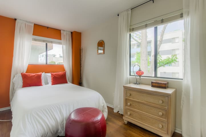 Enjoy a peaceful night's sleep in one of our 3 bedrooms