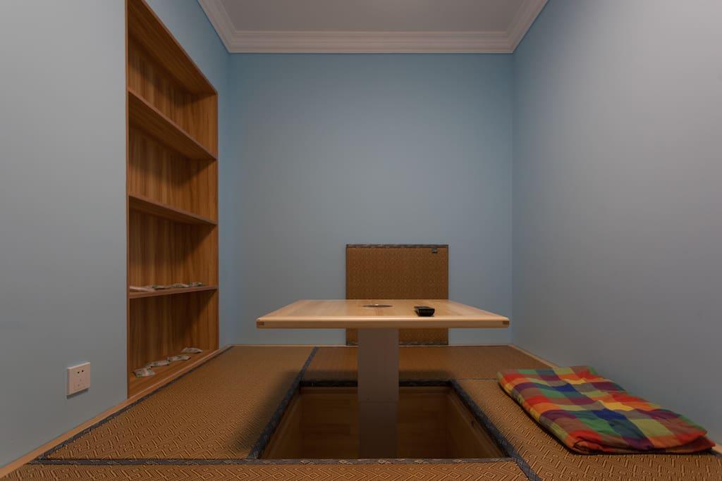 日式榻榻米客厅