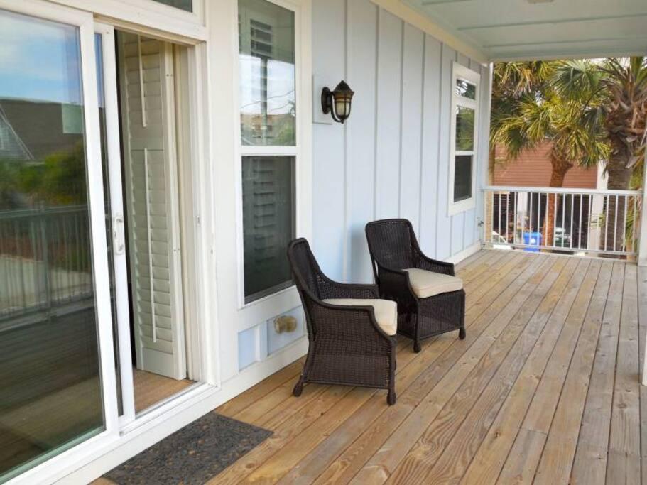 This house boasts three spacious porches.