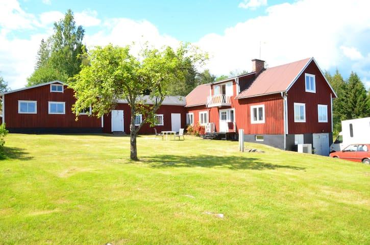 Ett stort hus med tre sovrum,  HUDIKSVALL
