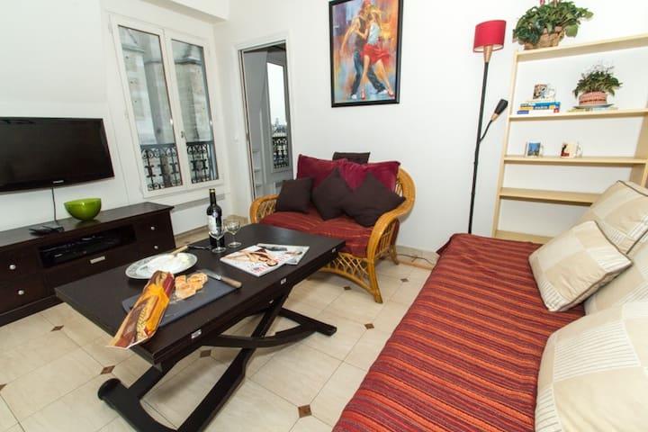 Chez Fabien - Fantastic Views! - Paris - Apartamento