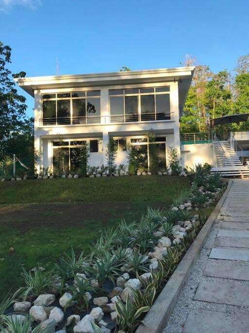 Casa Blanca Front Landscape